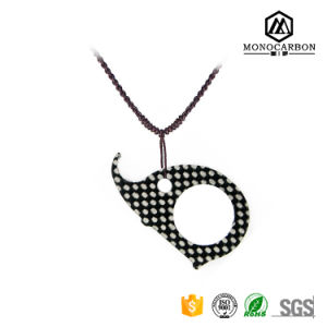 Best Quality New Selling Real Carbon Fiber Keyring Pendant pictures & photos