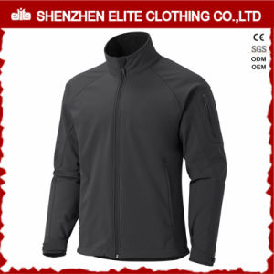 2017 Outdoor Breathable Softshell Jacket Mens Black pictures & photos