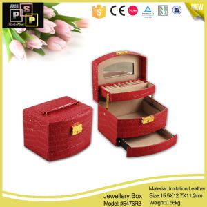 Unique China Supplier Fashion PU Leather Paper Jewelry Box pictures & photos