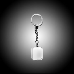Square Crystal Keychain (#963-C1231) pictures & photos