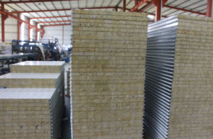 High Fire Rated Rockwool Sandwich Panels pictures & photos