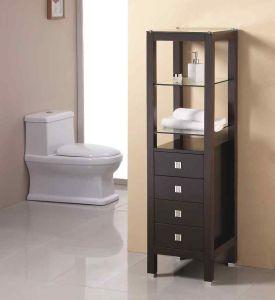Floor Standing Towel Shelf Bathroom Corner Cabinet