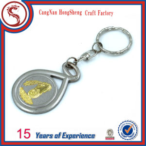 Custom Car Shape Design Metal Keyring Keychain for Promotion Gift pictures & photos