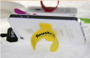 Touch-U Silicone Phone Stand Mini Phone Stand pictures & photos
