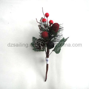 Pick Flower for Winter and Christmas Decoration (SFH11453) pictures & photos