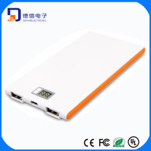 Ultrathin 5000mAh Portable Power Bank with LCD Display (LCPB-AS051) pictures & photos