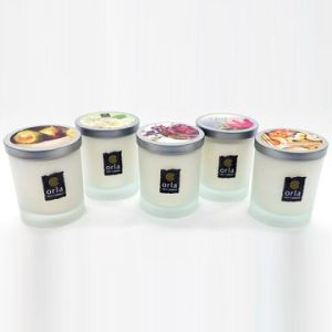 Scents of London Glass Jar Candle pictures & photos