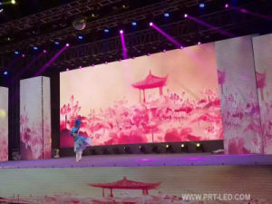 Full Color Advertising LED Screen Video Wall of P3.91/P4.81/P5.95/P6.25 (500*500mm/500*1000mm Board) pictures & photos