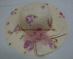 Foldable Cheaper Promotional Beach Hats for Lay (CPA_90053) pictures & photos