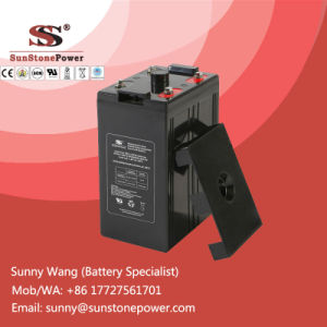 2V Solar Power Battery Deep Cycle Gel Type SLA Battery 500ah pictures & photos