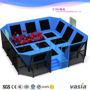 Children Indoor Mini Trampoline Park for Exercise pictures & photos