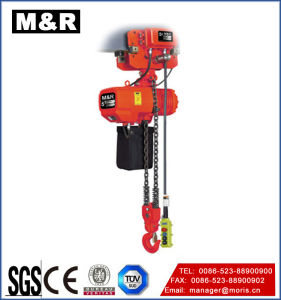 5t Hook Fixed Type Chain Crane Hoist Air pictures & photos