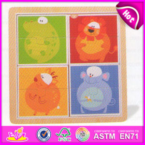 2015 Cute Design DIY Cheap Wooden Puzzle for Kid, Educational Wooden ...
