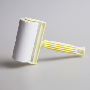 Factory Made Mini Cloth Cleaning Tools Sticky Sticky Roller Handle pictures & photos