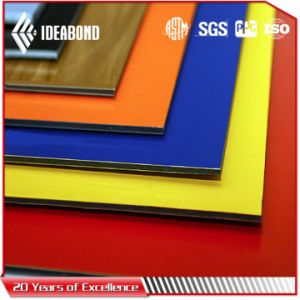 High Gloss Red Aluminum Composite Panel pictures & photos