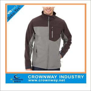 Comfortable Lightweight Outdoor Jacket Waterproof Soft Shell Jacket for Men pictures & photos