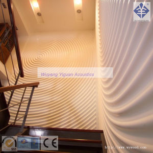 Hot Sale Wave Series MDF Carved Interior Decorative Board for Wall (205WPWS18) pictures & photos