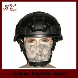 Police Mich 2002 Frame Puls Tactical Helmet with Nvg Mount Safety Helmet with Velcro pictures & photos