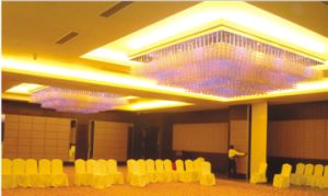 Crystal Stainless Steel Chandelier Lighting for Hotel Decoration pictures & photos