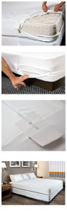 Hotel Fitted Mattress Cover/Quilted Mattress Protector pictures & photos