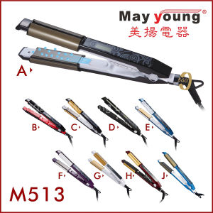 Factory Price Multifunctional 2 in 1 Hair Curler Flat Iron Hair Straightener pictures & photos