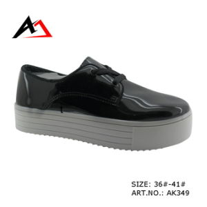 Injection Molding Shoes Platform Casual Boots for Women (AK349) pictures & photos