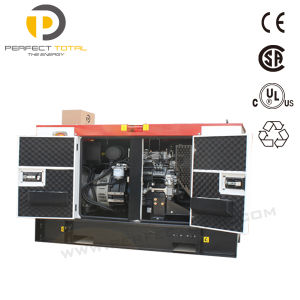 20kVA Water-Cooled Diesel Generator Set with Perkins Engine pictures & photos