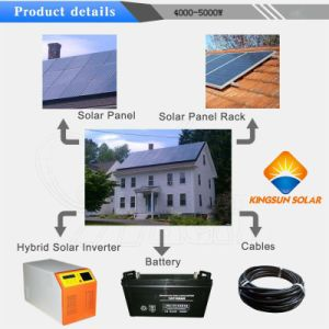 4000W off Grid Solar Power Generator System for Home pictures & photos
