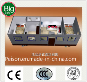 Low Pay Mobile Prefabricated/Prefab House Container House/Villa for Hot Sale pictures & photos