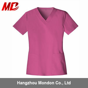 Saleble Polyster Medical Scrub Uniform pictures & photos