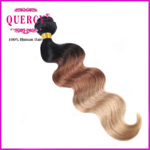 New Arrival High Quality and Wholesale Price 3 Tone Omber Color Body Wave Hair, 100% Malaysian Hair pictures & photos