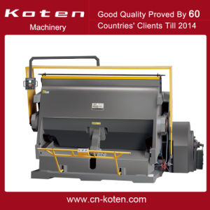 Paper Die Cutting Machine (ML-2500) pictures & photos