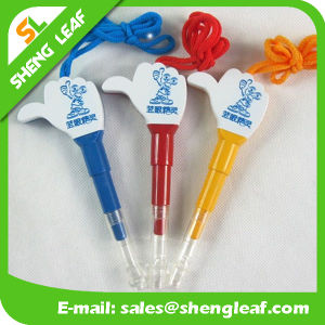 Lovely Custom Logo Ball Pen with Advertising Paper (SLF-LP024) pictures & photos