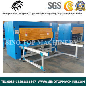 Honeycomb Paperboard Cutting Machine pictures & photos