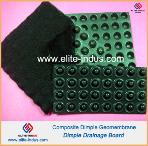 HDPE Dimple Geomembrane for Drainage pictures & photos