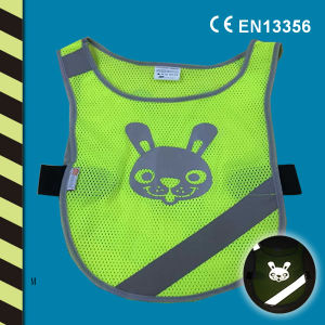 Kid Reflective Mash Vest for CE En 13356 pictures & photos