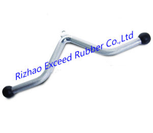 Gym Equipment of Chrome Handle Bar Fitness