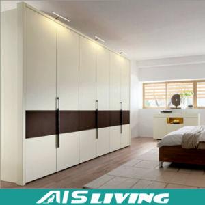 Double Color Wardrobe Closet Design Furniture Bedroom (AIS-W028)