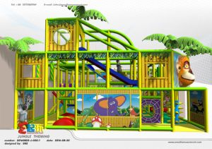 Jungle Themed Indoor Playground with Ce Certificate pictures & photos