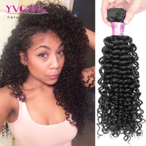 Wholesale Virgin Curly Brazilian Hair Extension pictures & photos