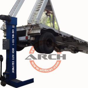 Heavy Duty Mobile Column Four Post Truck Lift Lifting Equipment pictures & photos