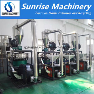 Plastic PVC PP PE ABS Powder Making Machine / Plastic Grinding Pulverizer Machine pictures & photos