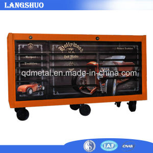 Workshop Use Store Toolbox Garage Cabinet with Drawers Tool Chest pictures & photos