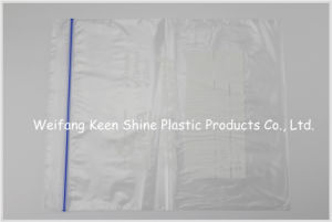 Zip Top LDPE Plastic Custom Design Grip Seal Bag pictures & photos