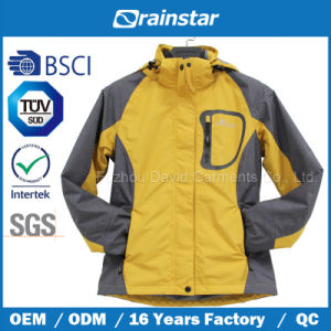 Custom Winter Warm Taslon Jacket Two-in-One with Two Color