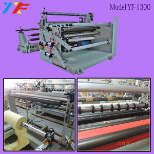 Auotmatic BOPP Adhesive Tape Fabric Paper Slitting Machine pictures & photos
