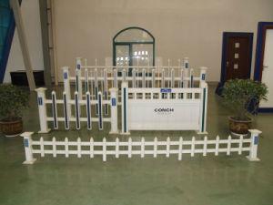 Conch PVC/UPVC Garden Fence pictures & photos