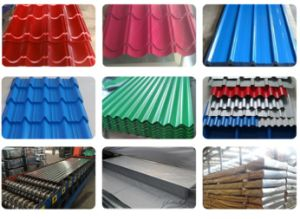 Color Coated Corrugated Steel Sheet Roofing Sheet pictures & photos