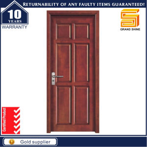Cheap Price Interior MDF Wooden Door / Wood Veneer Doors pictures & photos