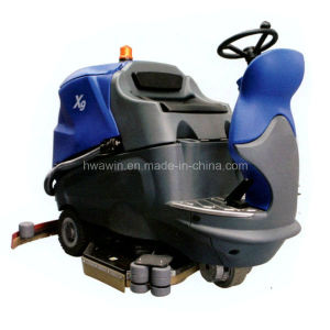 Heavy Duty High Speed Ride on Floor Scrubber Machine pictures & photos